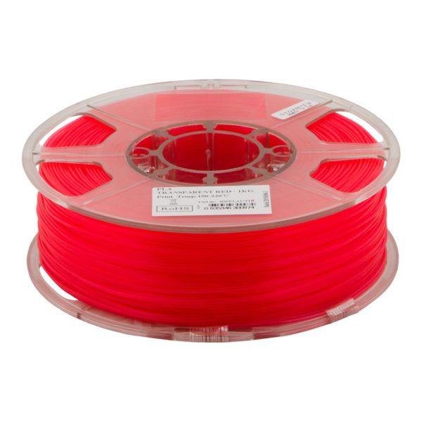 20202_PrimaPLA Filament - 3mm - 1 kg spool - Transparent Red