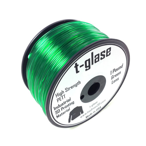 Taulman-t-glase-PETT-Green-3mm-filament