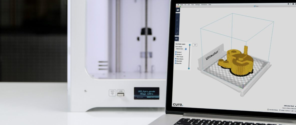 Announcing Cura 2 5 | Εκτυπωτές 3D - Thes3D - 3D Printing