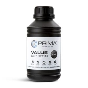 PrimaCreator-Value-UV---DLP-Resin-500-ml-Black-PV-R