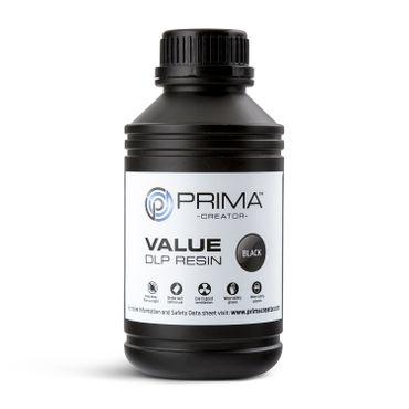 PrimaCreator-Value-UV---DLP-Resin-500-ml-Black-PV-R