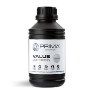 PrimaCreator-Value-UV---DLP-Resin-500-ml-Light-Grey