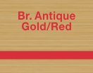 BRANTIQUE GOLD_RED